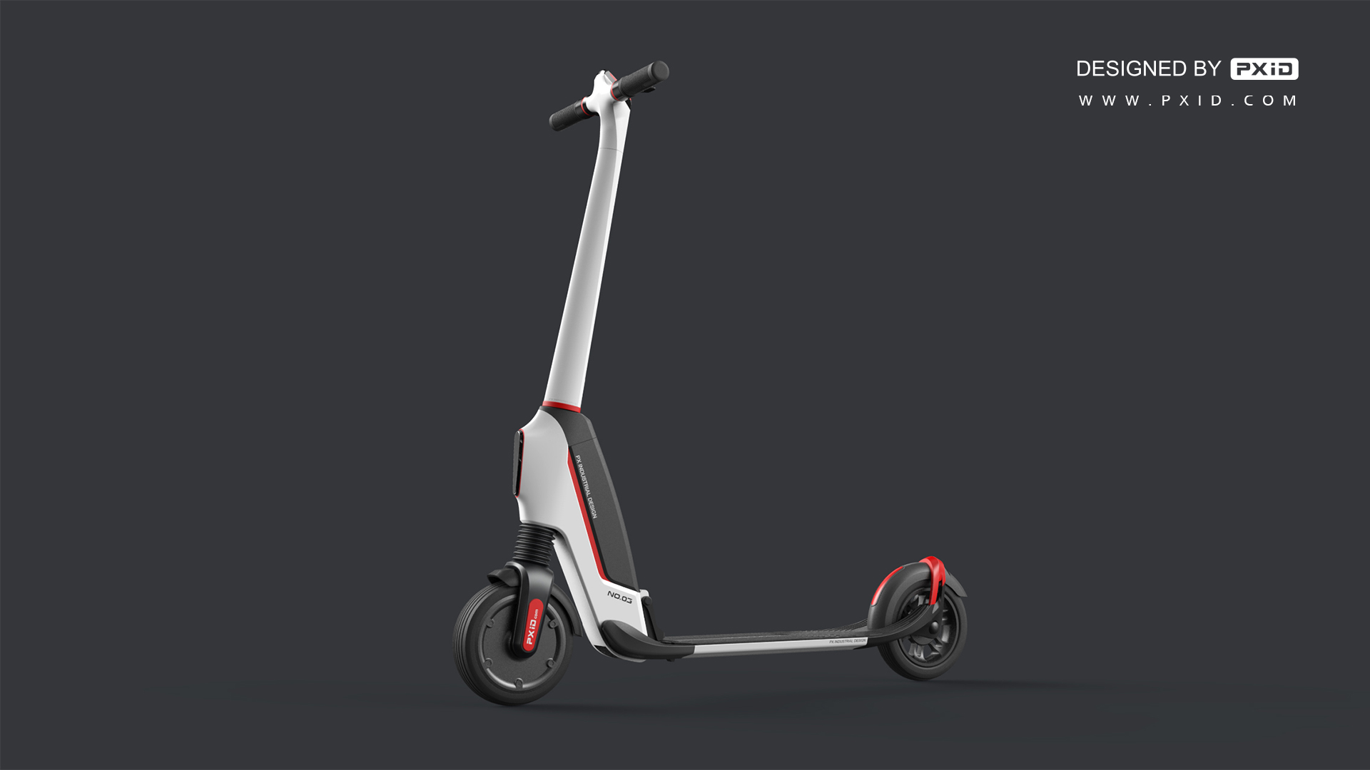 folding electric scooter design