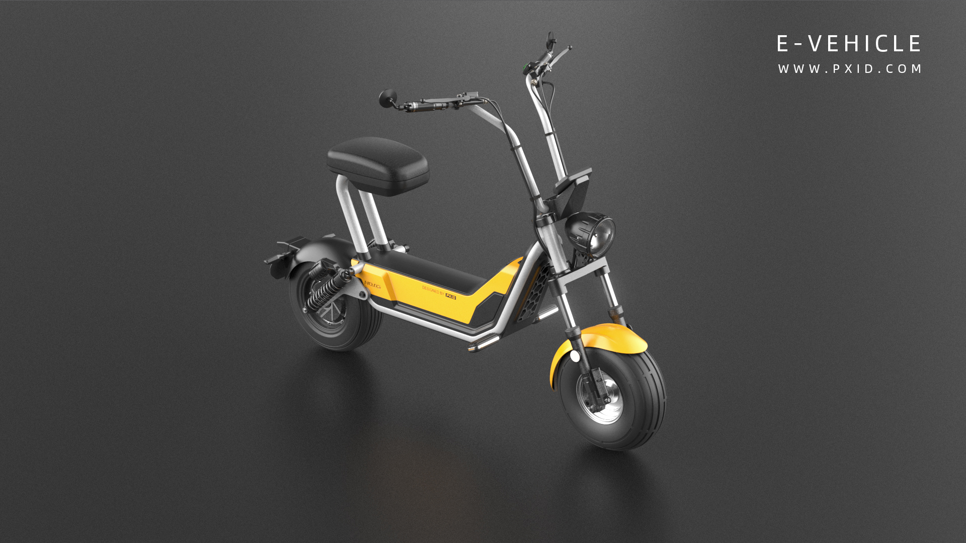 Electric Little Harley - Electric Motorcycle Design