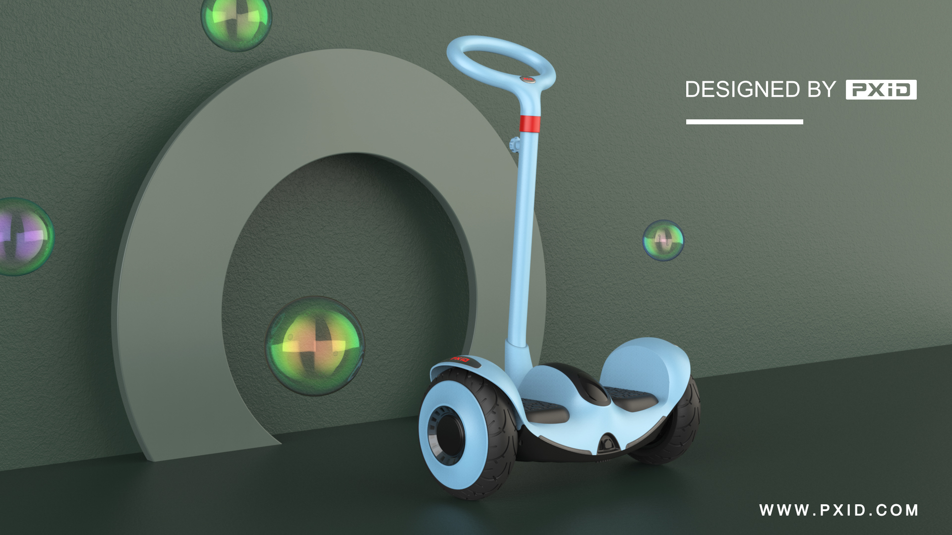 Children's electric balance wheel design