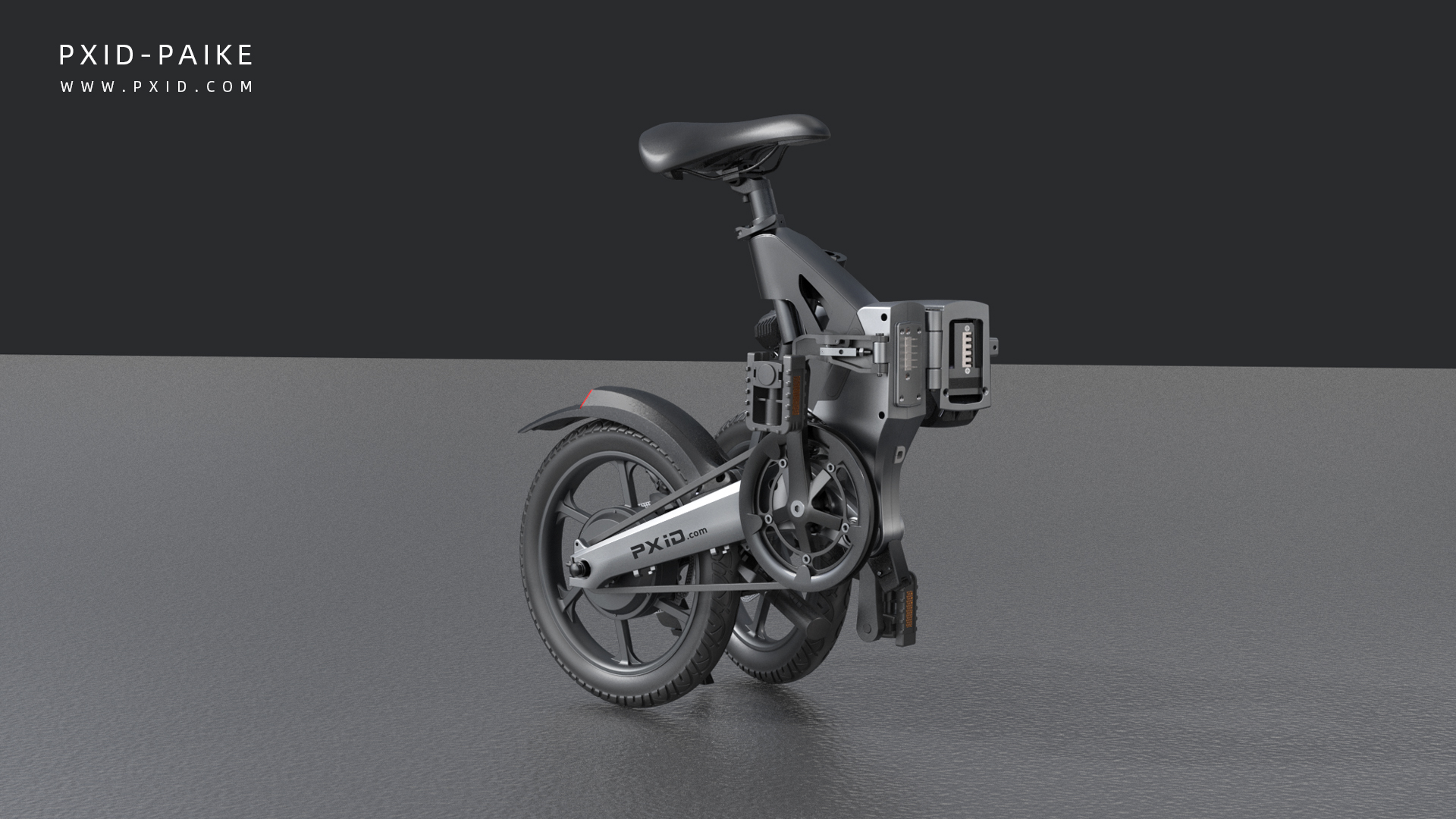 P2-16 inch folding electric bike design