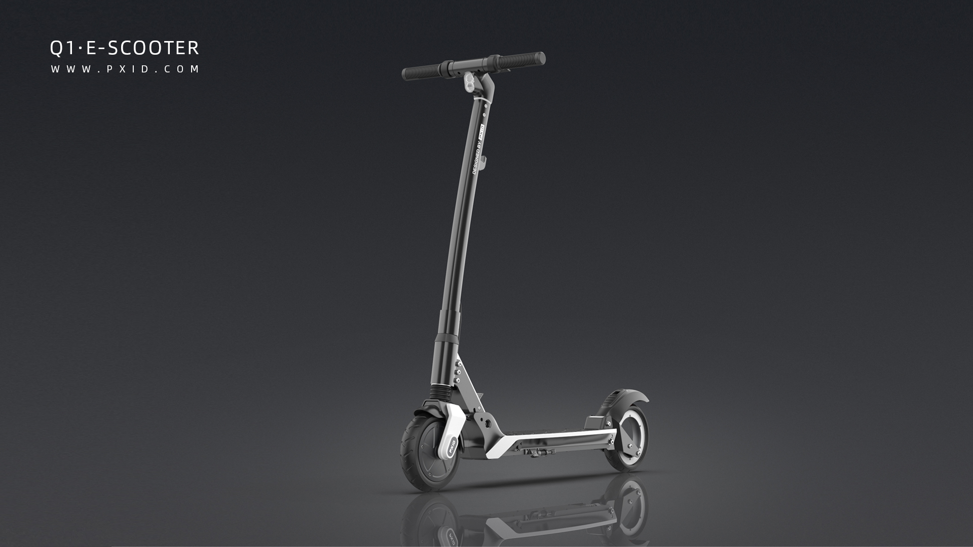 2020 PXID new electric scooter design