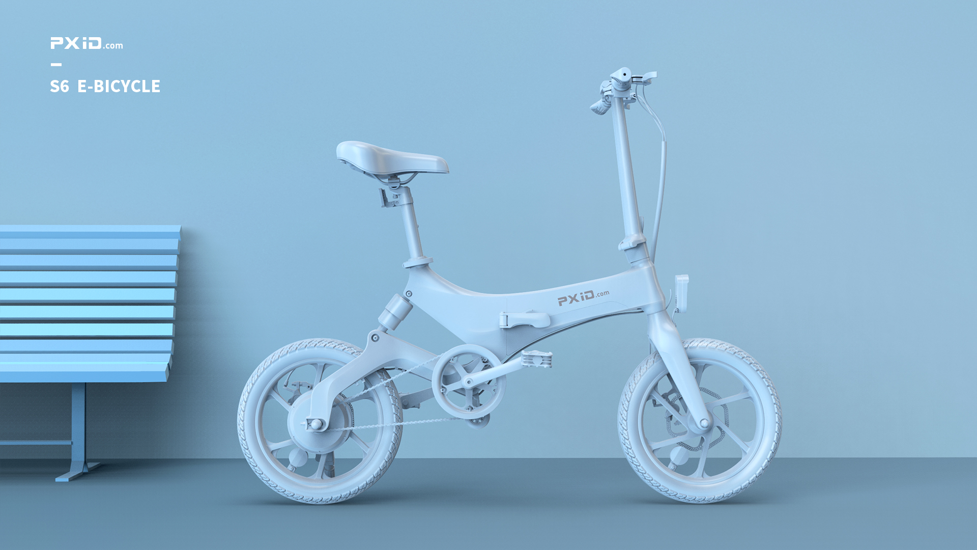 Onebot S6 electric bicycle design