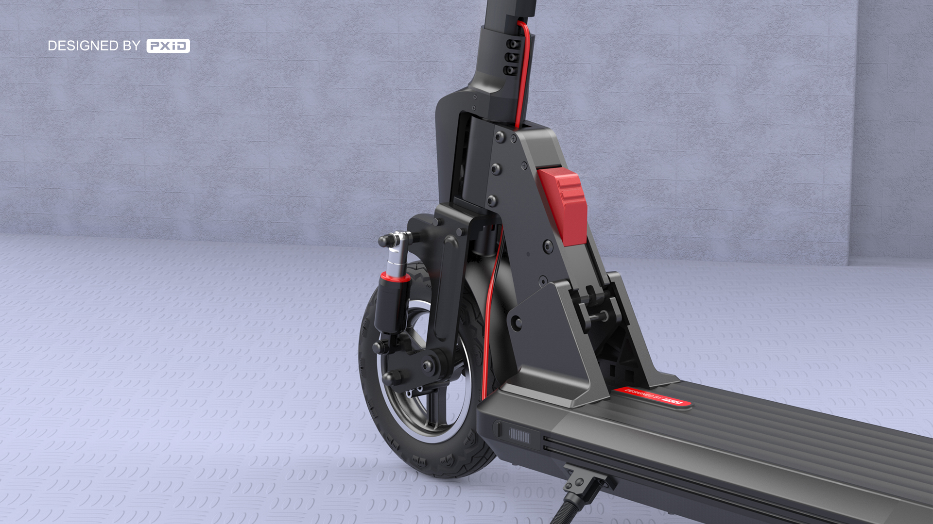 China Manufacturer 48V Kick Scooter Lectrique 500W Electric Scooter Adult