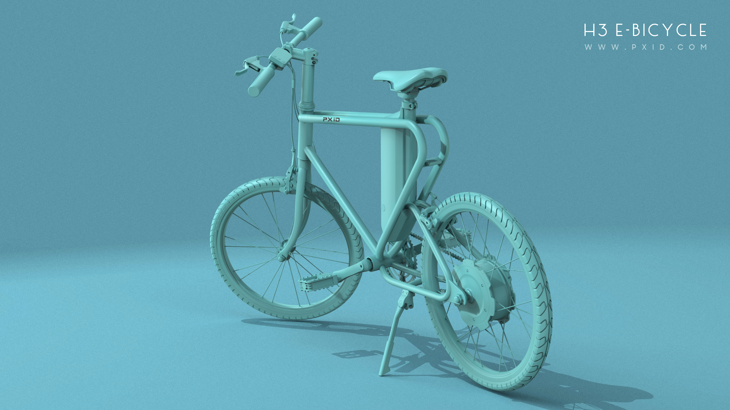 Electric Bicycle Design - Option 3