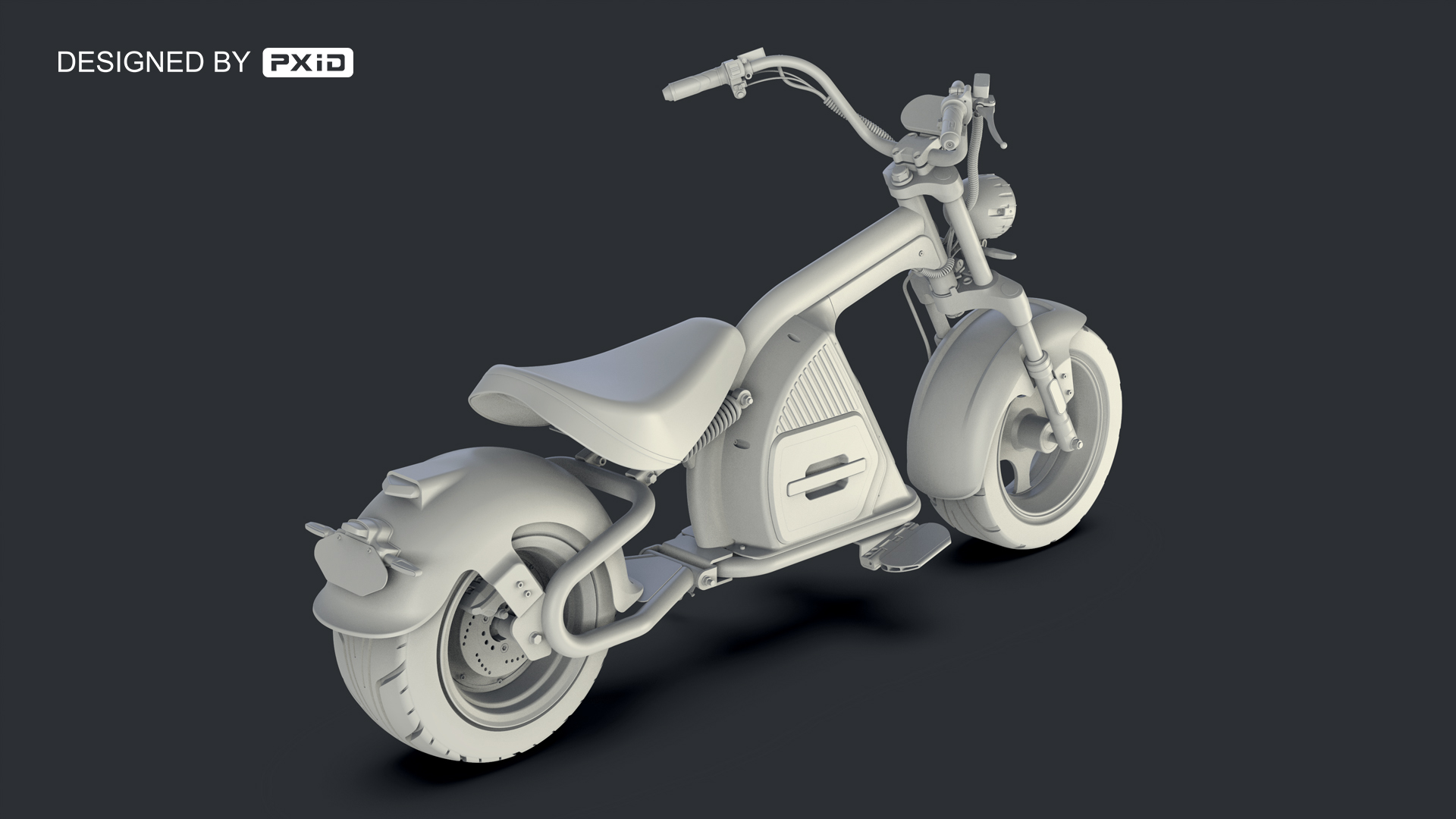 2020 new electric motorcycle design