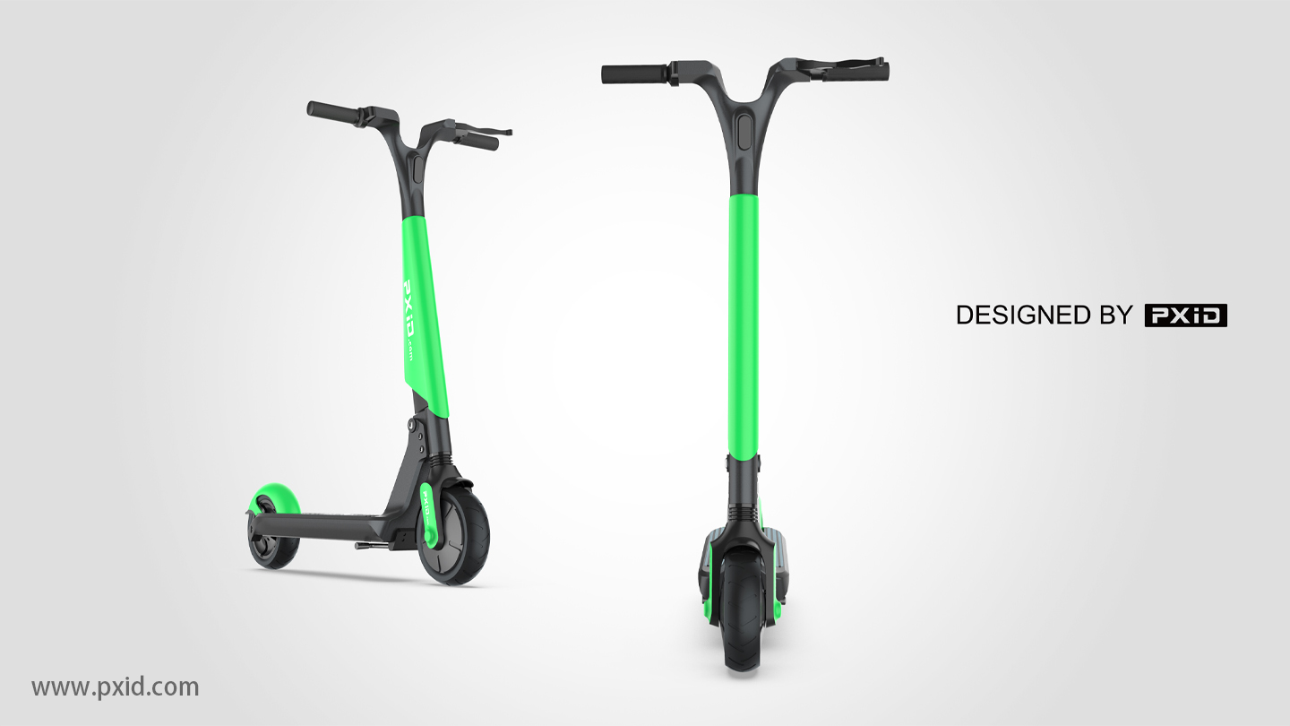 Fast wheel sharing scooter design
