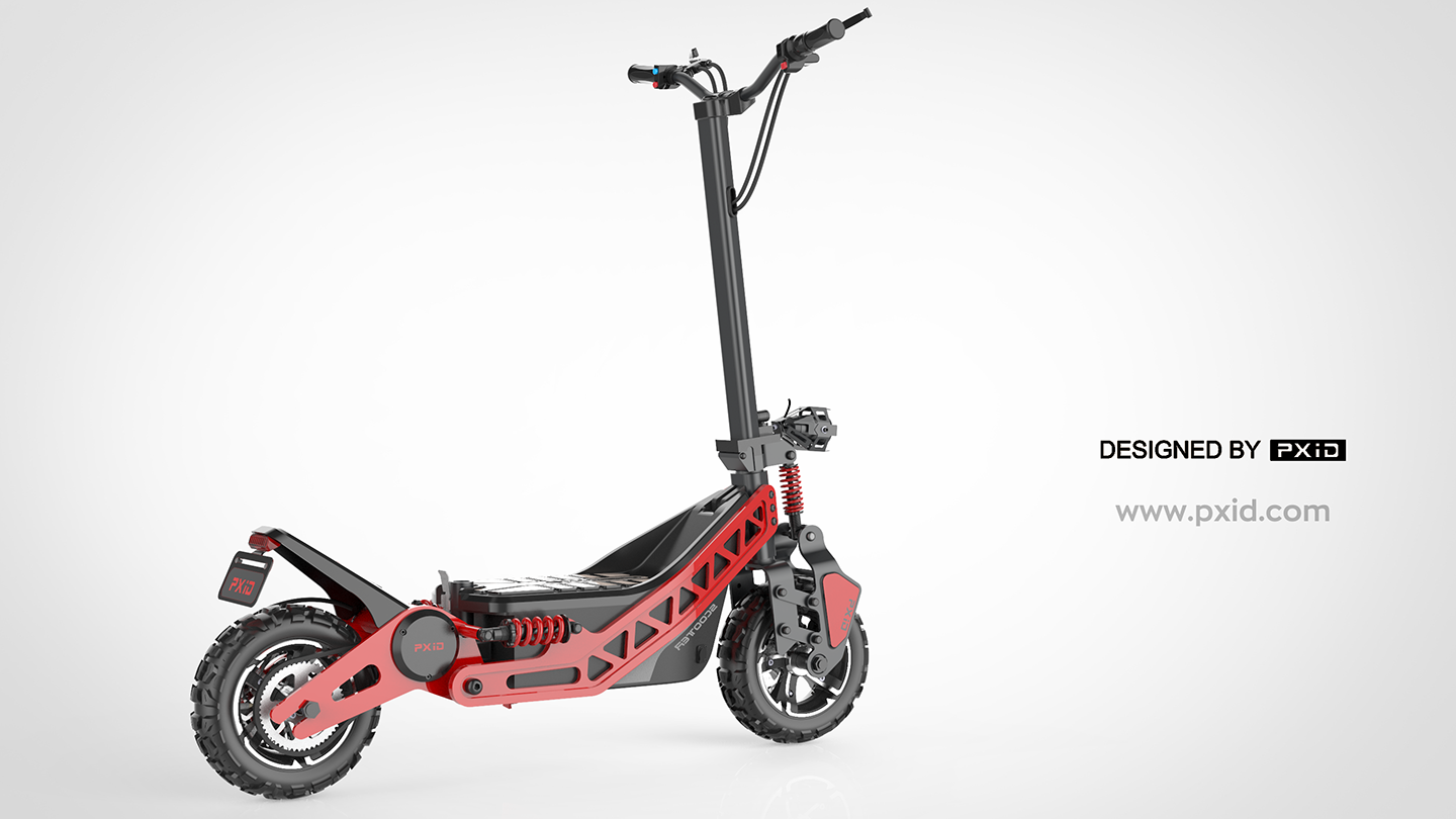 off-road electric scooter design - Give you a ride for cycling