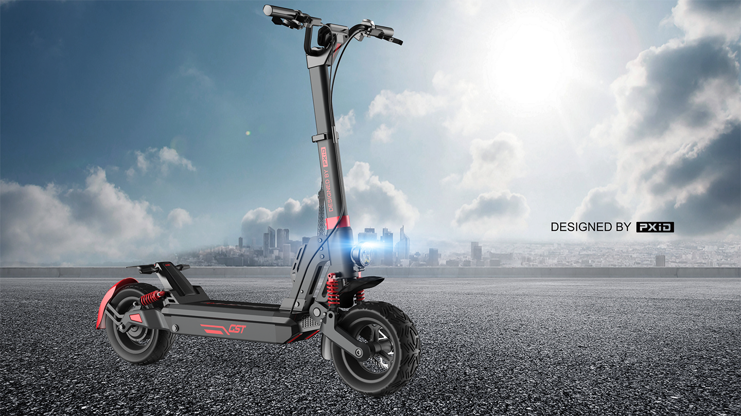 Adults folding C1 e-scooter powerful electric scooter design