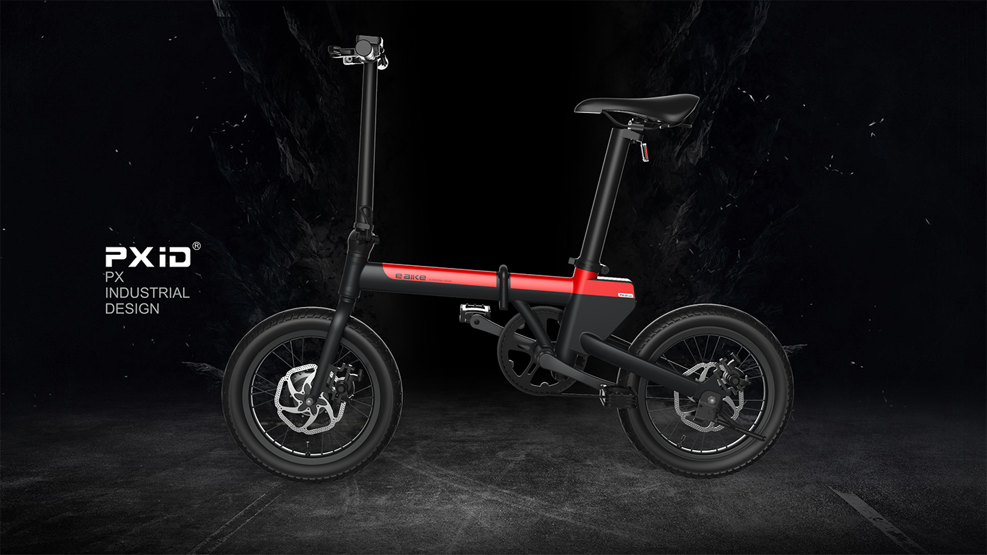 Concealed battery - electric bicycle design