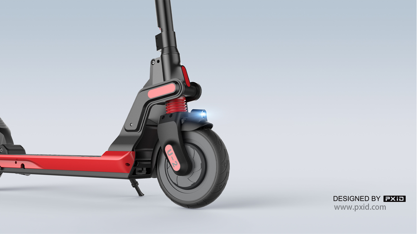 U2 scooter, young and tasteful