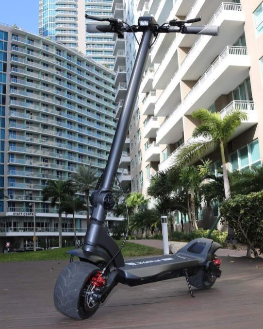 Upgraded SuperPower WideWheel Pro Electric Scooter Debuts in the U.S.