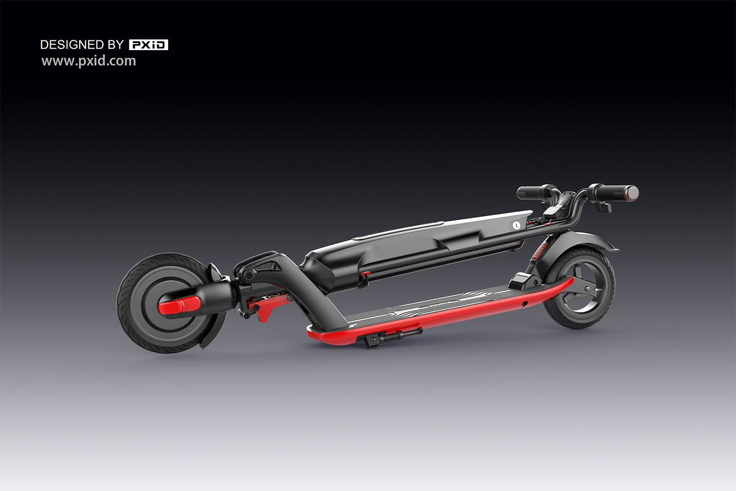 Modern release foldable scooter with 20km cruising range!
